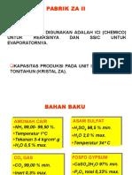 diagram alir pabrik Petrokimia Gresik ZA II