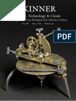 Skinner Science, Technology & Clocks Auction 2502