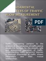 Fundamental Parameters of Traffic Flow Measurement