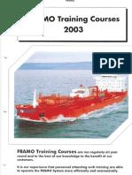 f Ramo 2003 Training Course