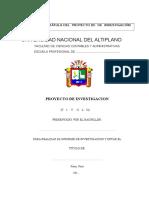 ESQUEMA Proyecto de Tesis 2015