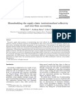 Disembedding the supply chain: institutionalized reflexivity and inter-firm accounting