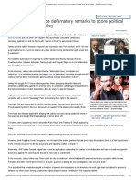 Arvind Kejriwal Made Defamatory Remarks to Score Political Points_ FM Arun Jaitley - The Economic Times
