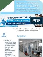 4. Mejores Prácticas Para Reducir Las Infecciones Asociadas a Dispositivos Médicos de La IPS Universitaria