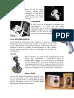 Camara Web, Lapiz Optico, Codigo de Barras, Joystick, Valor Moral