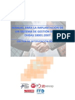 Manual Oshas ISO 18000