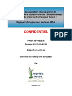 Amphibia-Nature Rapport-1 Turcot 2011 Info