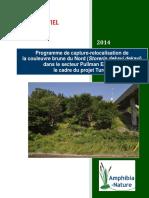 Amphibia-Nature Rapport-4 Turcot 2014 Info