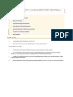 Land Ordinance 2014 vs. Land Acquisition Act 2013