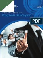 Catalogo de Planes de Estudio de Posgrado