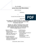 Amicus Brief of 23 Pro-Life Organizations and Judicial Education Project in Young v. UPS