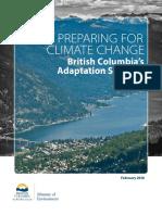Adaptation Strategy British Columbia