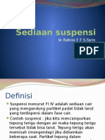 Suspensi (semi Solid) Farmasi