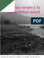 Negocios Verdes y la Imbecibilidad de la moral. Santiago Restrepo Barrera