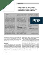 Papel Actual Del Diagnostico Por Imagen en La Evaluación Del Paciente Con Cólico Nefrítico