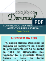 Escola Blica Dominical