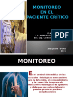 2.- Monitoreo en Paciente Critico