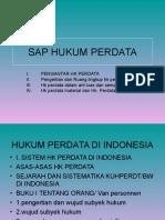 Kuliah Hukum Perdata Pengantar