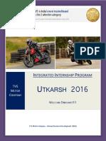 Welcome Aboard_Utkarsh 2016