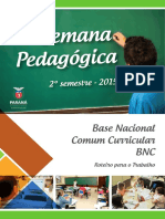 Base Nacional Com Um Curricular