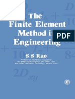 Finite Element Method by Ss Rao