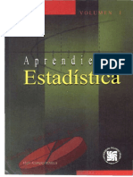 Aprendiendo Estadistica Volumen 1