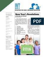 VAECE Newsletter Winter 2016