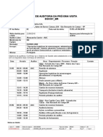 Plano de Auditoria SGQ