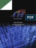 2010 TIE Conference Book