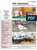 FPSC Newsletter 34th Edition