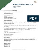Código Orgánico Integral Penal RO