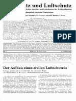 Gasschutz Und Luftschutz 1932 Nr.7 Juli 1932