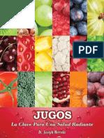 Jugos. La Clave Para Una Salud Radiante - Joseph Mercola-FREELIBROS.org