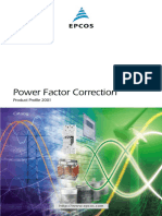 EPCOS power Factor Correction Product Profile