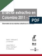 Informe Observatorio Ie 2013 Final SECTOR EXTRACTIVO