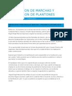 Trabajo Investigativo Regulacion de Marchas y Prohibicion de Plantones