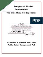 UK Alcohol Deregulation