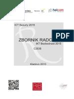 Zbornik Radova-IKT Bezbednost 2015 (ICT Security), Kladovo, Republika Srbija