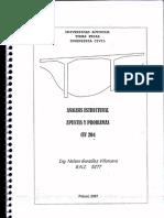 Analisis Estructural, Apuntes y Problemas