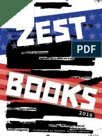 Zest Books 2016 Catalog