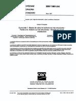 ENV 1991-2!6!1997 - Actions Sur Les Structures - Actions en Cours D'Execution