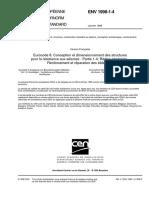 ENV 1998-1!4!1996 - Renforcement Et Reparation Des Batiments