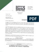 Investigation report, redacted