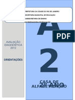 Simulado Avaliação Diagnóstica 2 Ano Língua Portuguesa