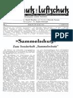 Gasschutz Und Luftschutz 1933 Nr.3 März