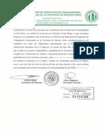 Certificado filial federación para SIPEM