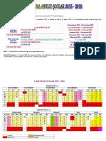 Structura Anului Scolar 2015 2016 (nefinalizata)