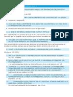Cuestionario Derecho Procesal Civil II