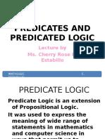 2 Predicates and Predicated Logic