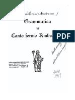 Gregoriano - Canto Ambrosiano